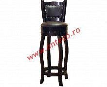 Scaun de bar Jockey rotativ