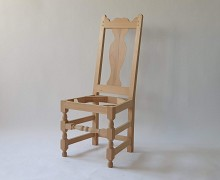 Schelet din lemn masiv - Scaun Putna